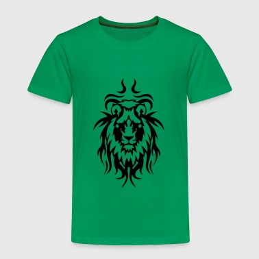 Tribal Tattoo Löwe wildes Tier - Kinder Premium T-Shirt