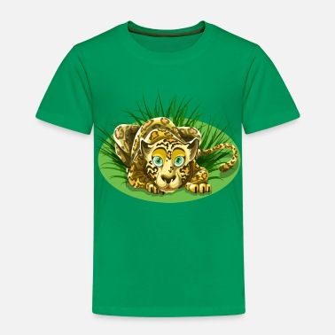 Warnwest Leopart - Kinder Premium T-Shirt