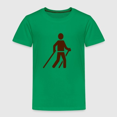 Nordic Walking - Kinder Premium T-Shirt