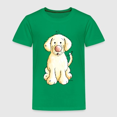 Golden Retriever Puppy - Kids' Premium T-Shirt