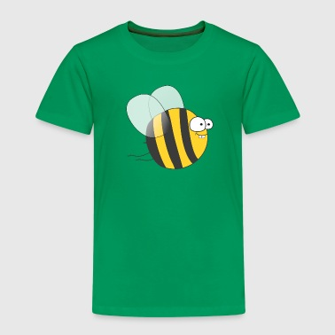 Cool & Crazy Funny Bee / Bumble Bee (Sweet & Cute) - Kids' Premium T-Shirt