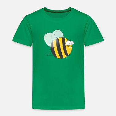 Bee Cool & Crazy Funny Bee / Bumble Bee (Sweet & Cute) - Kids' Premium T-Shirt