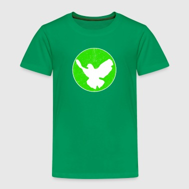 Dove of Peace - green - Kinder Premium T-Shirt