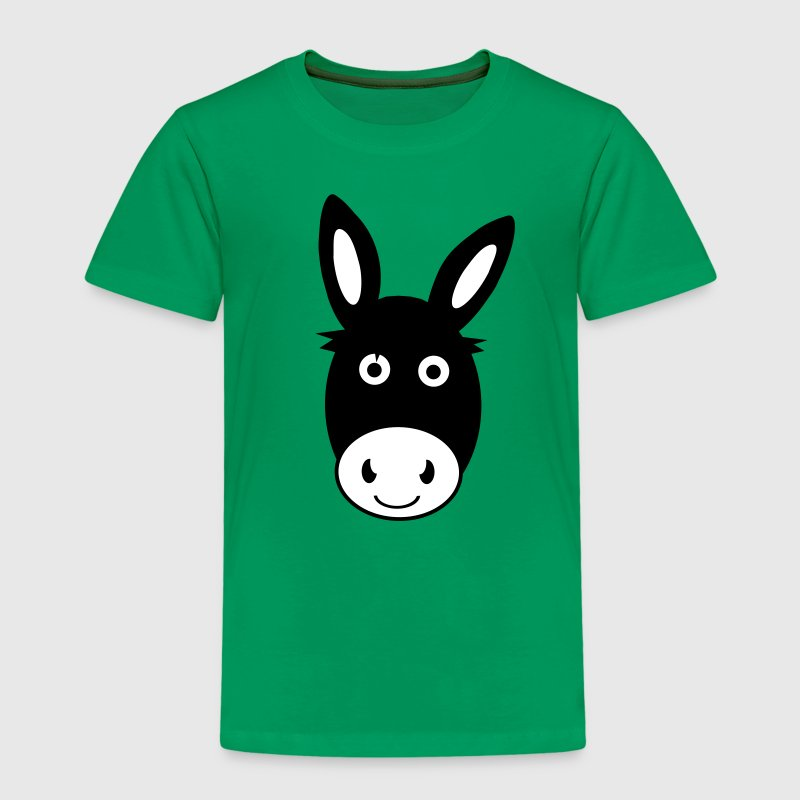 Cute Donkey - Kids' Premium T-Shirt