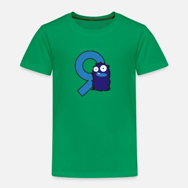 Cipher monster_9_dd - Premium T-shirt til børn