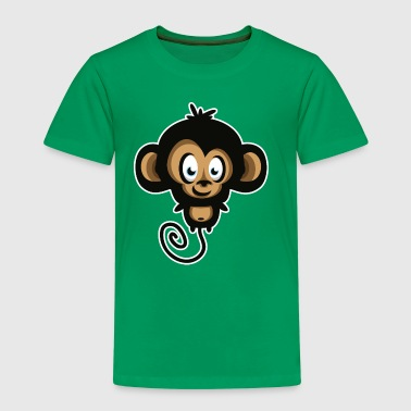 affe comic tier - Kinder Premium T-Shirt