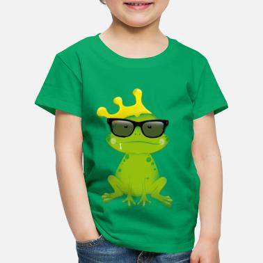 Collection For Kids Nörtti Frog - Lasten premium t-paita