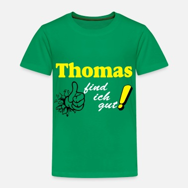 Thomas Witzig Thomas find ich gut - Kinder Premium T-Shirt