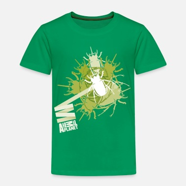 Kulørt Animal Planet teenage T-shirt langærmet bille - Premium T-shirt til børn