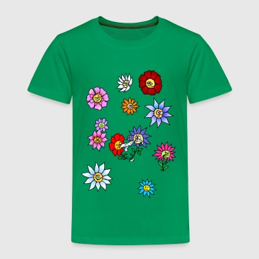 Flowers.png - Kinder Premium T-Shirt