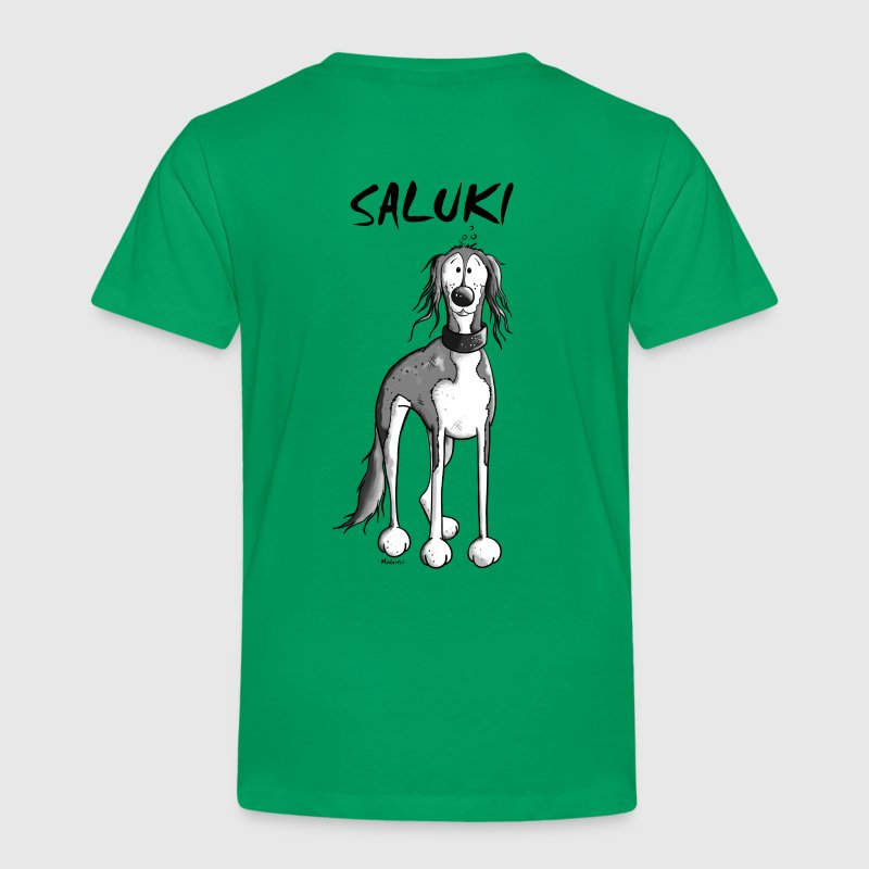 Cute Saluki - Kids' Premium T-Shirt