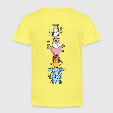 Funny Animal Circus - Zoo - Kids' Premium T-Shirt