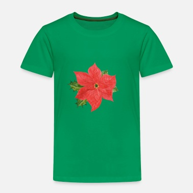 Poinsettia Poinsettia plant - Kids' Premium T-Shirt
