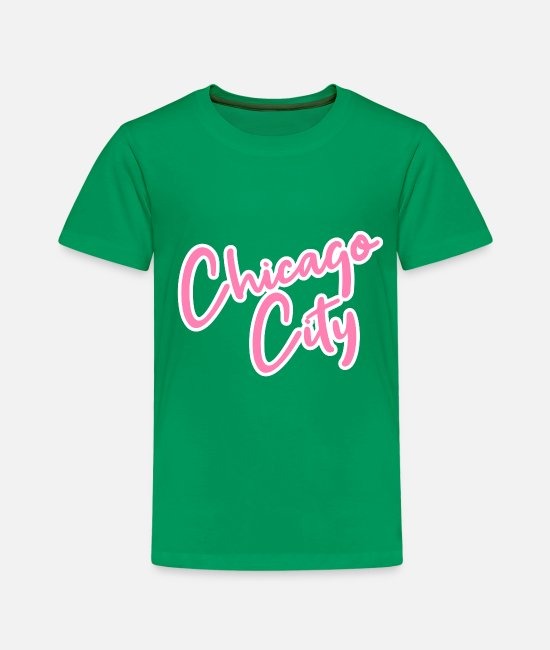 USA T-Shirts - Chicago - Kinder Premium T-Shirt Kelly Green