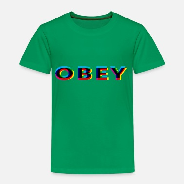 Anaglyph Obey Anaglyphic - Kids' Premium T-Shirt