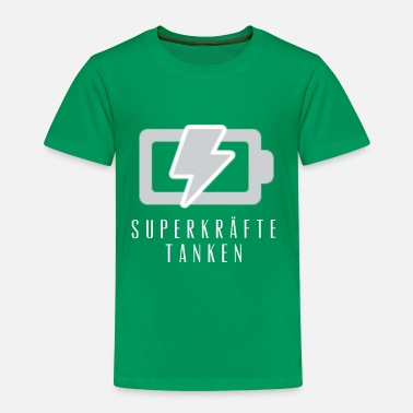 Fill Up fill up with superpowers - Kids' Premium T-Shirt