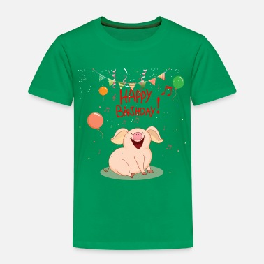 Happy Birthday Geburtstag - Happy Birthday - Kinder Premium T-Shirt