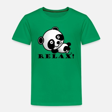 Panda Relax Sweet Animal Gift - Kids' Premium T-Shirt
