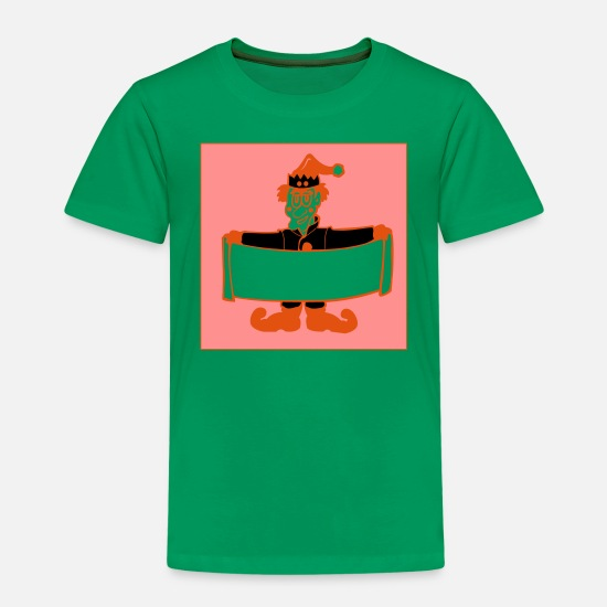 Santa Claus T-Shirts - xmas - Kids' Premium T-Shirt kelly green