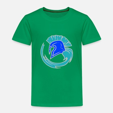 Leible Cool Blue Spartahelm - Leibl Designs - Kids' Premium T-Shirt