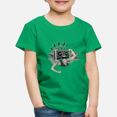 Collage Reggae Punk - Kids' Premium T-Shirt