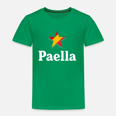 Paella Stars of Spain - Paella (dark) - Camiseta premium niño
