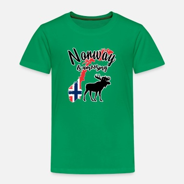 Norway is amoosing - Kinderen premium T-shirt