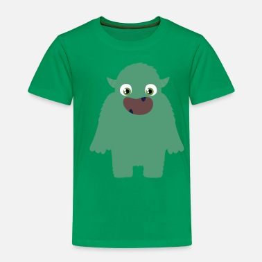 Scary Monster The scary monster - Kids' Premium T-Shirt