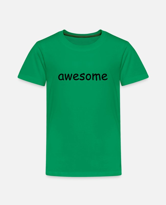 Grand T-Shirts - awesome - Kids' Premium T-Shirt kelly green