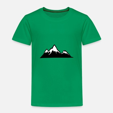 Alps Mountains Mountains, Alps, mountain, hiking - Kids' Premium T-Shirt