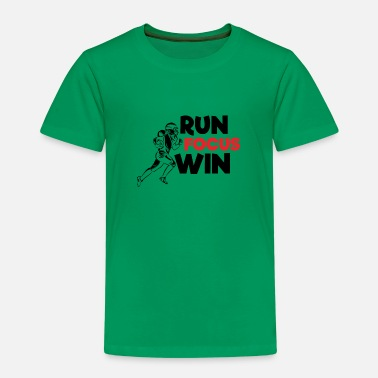 Run Focus Win - Football américain - T-shirt premium Enfant