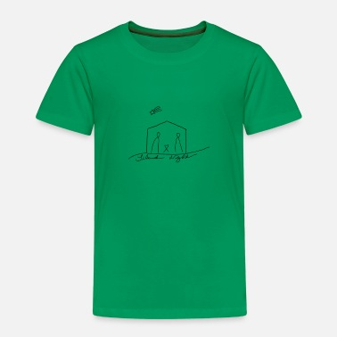 Bethlehem silent night, Christmas, gift idea, Xmas - Kids' Premium T-Shirt