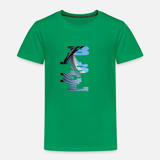 Measure T-Shirts - FAIR bassel - Kids' Premium T-Shirt kelly green