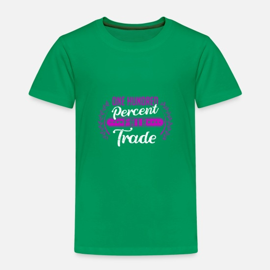 Product T-Shirts - Fair trade - Kids' Premium T-Shirt kelly green