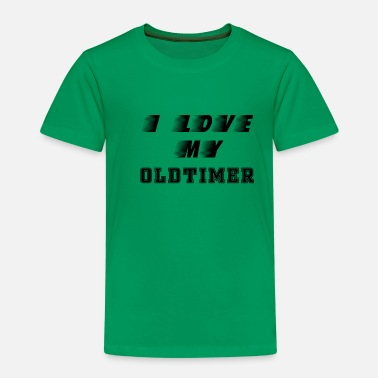 I love my vintage car car driver car lover - Kids' Premium T-Shirt