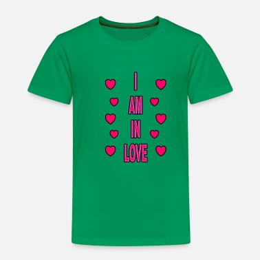 I Am In Love I am in love - Kids' Premium T-Shirt