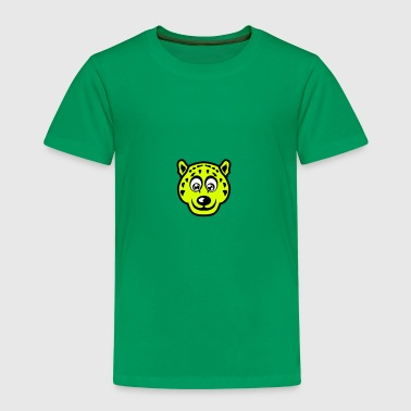 leopards animaux rigolo cartoon dessin - T-shirt Premium Enfant