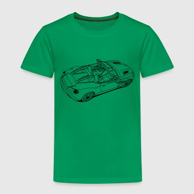 Sports Car - Kinder Premium T-Shirt
