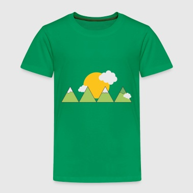 Mountain landscape - Kids' Premium T-Shirt