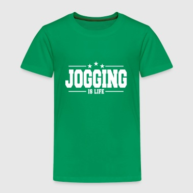 jogging is life 1 - Kids' Premium T-Shirt