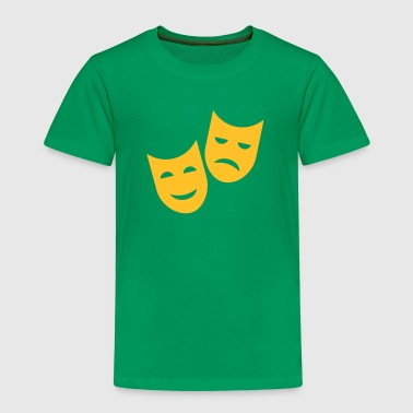 Theater Masken - Kinder Premium T-Shirt