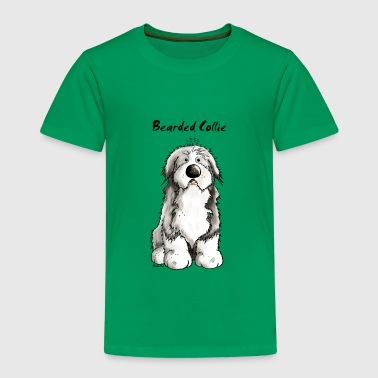Süßer Bearded Collie - Hund - Kinder Premium T-Shirt