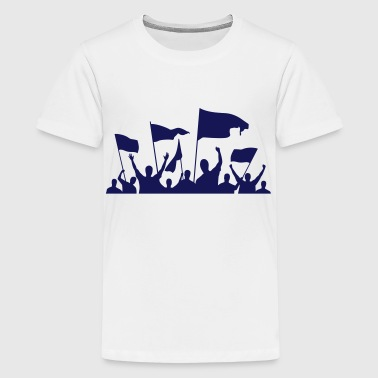 Demonstration / Protestaktion - Teenager Premium T-Shirt