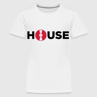 House muziek! - Teenager Premium T-shirt