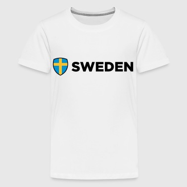 Nationell flagg - Premium-T-shirt tonåring