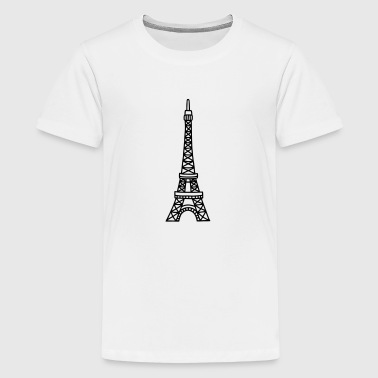 Tour Eiffel - Paris - T-shirt Premium Ado