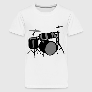 Drums - Teenager premium T-shirt