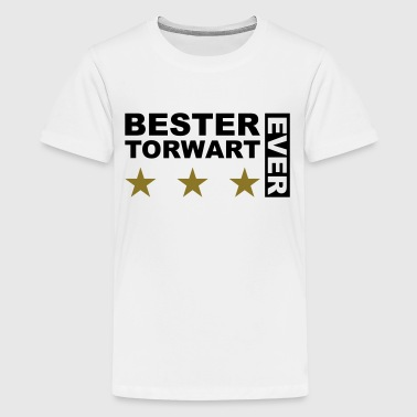 Bester Torwart - V2 - Teenager Premium T-Shirt