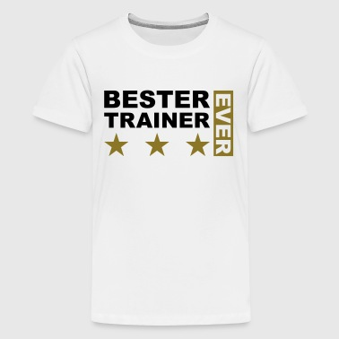 Bester Trainer - V2 - Teenager Premium T-Shirt