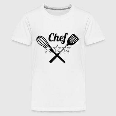 Chef - Teenage Premium T-Shirt